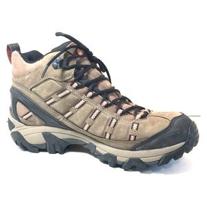 Merrell Men's Brown Leather Waterproof Hiking Boot
